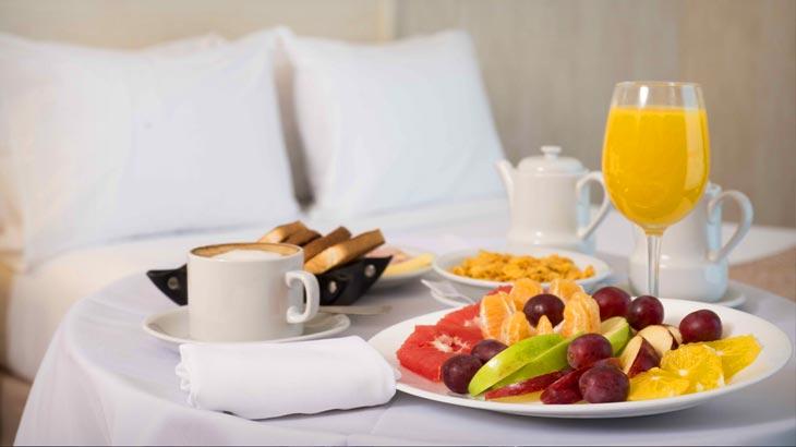 Excalibur Hotel Room Service Menu